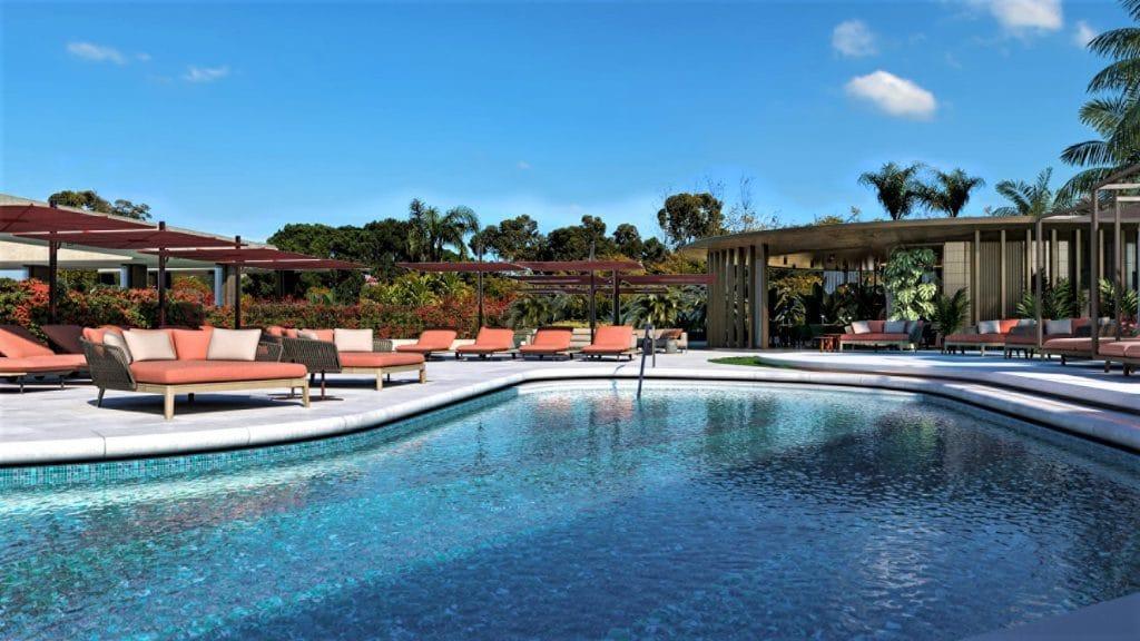 Hotel Ritz, Lisbonne - piscine