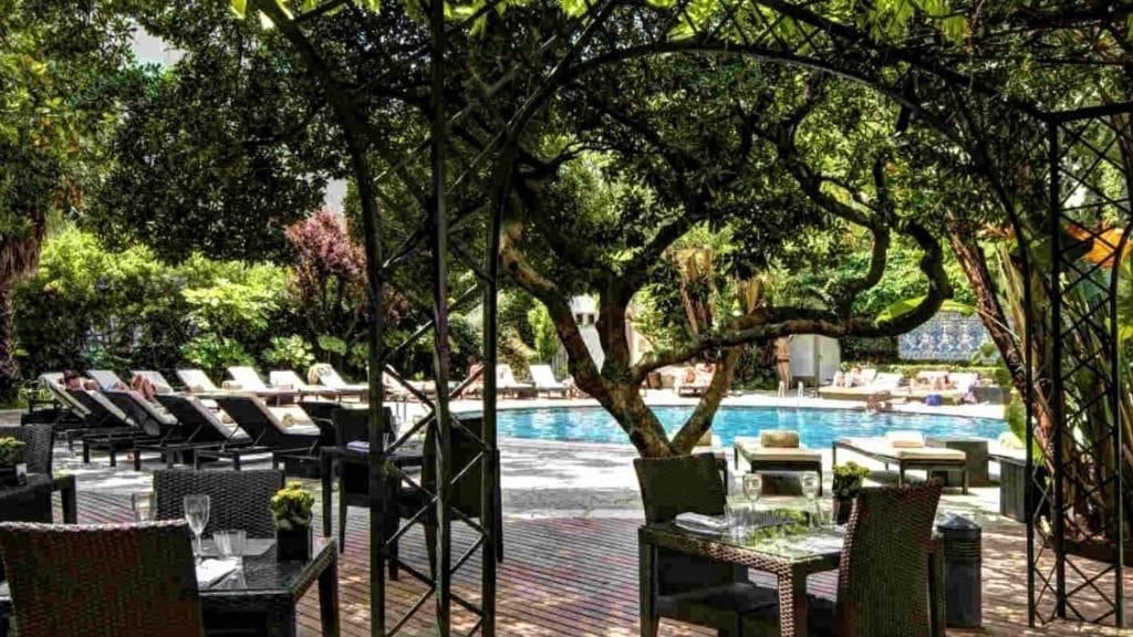 Hotel Tivoli Avenida Liberdade, Lisbonne - piscine