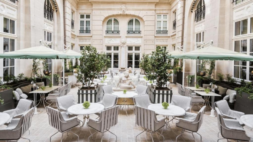 Hôtel de Crillon, à Paris