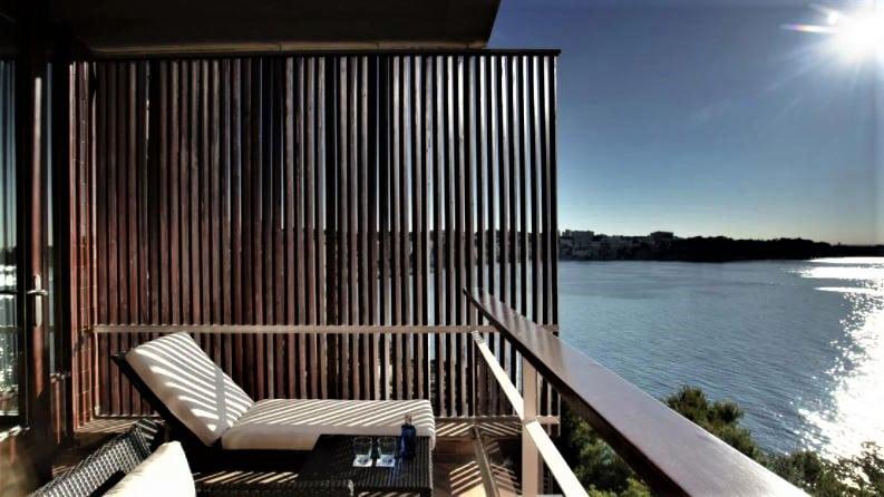 Hotel de Mar Gran Meliá, Espagne - balcon vue mer