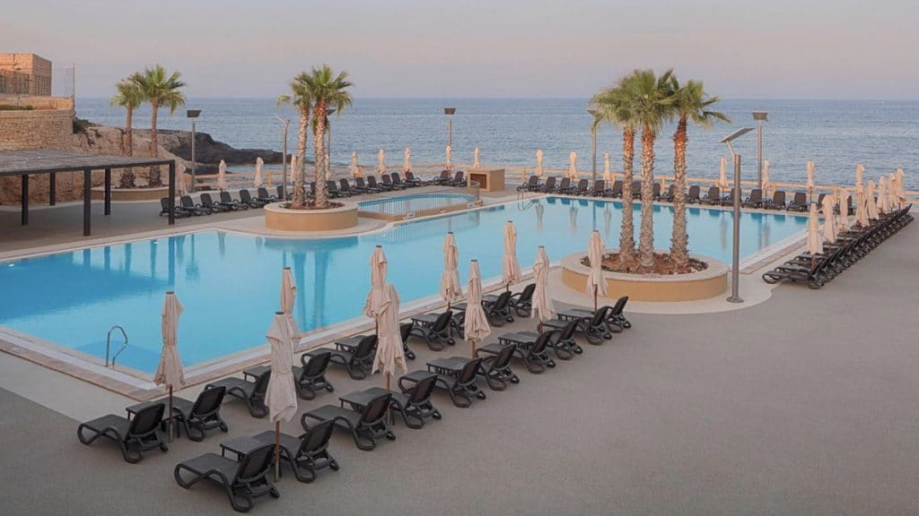 The Westin Dragonara Resort, Malte - piscine bord de mer