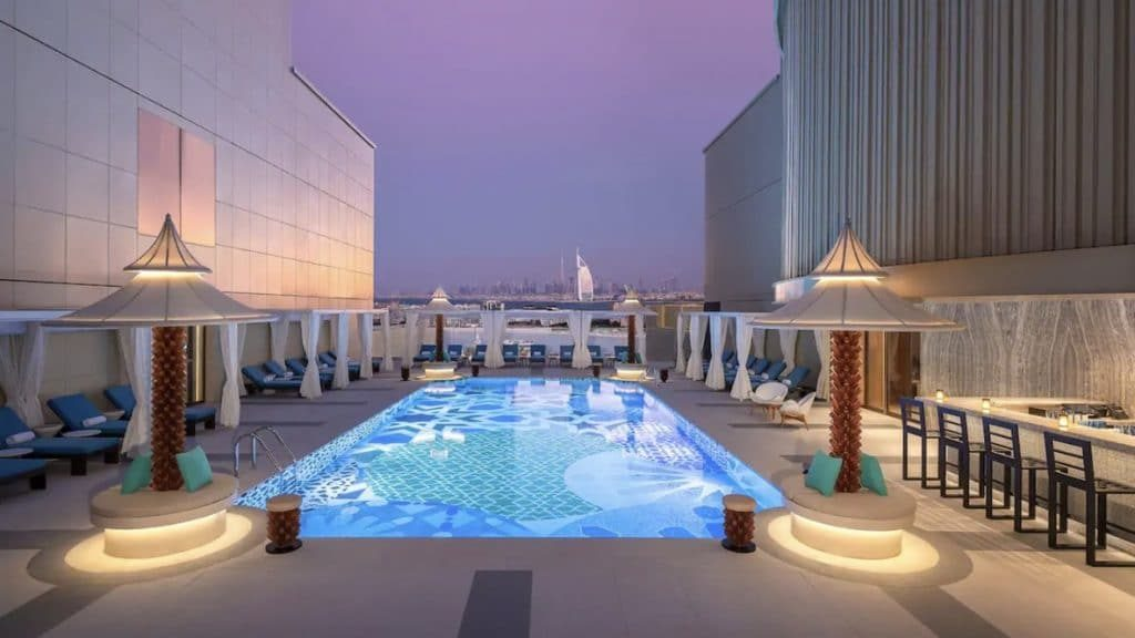 Andaz Dubai The Palm – a concept by Hyatt - piscine