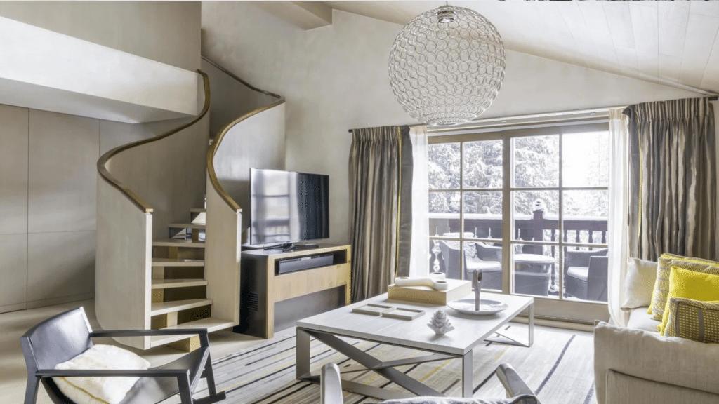 Chalet Courchevel, Chambres et Suites _ Cheval Blanc Courchevel
