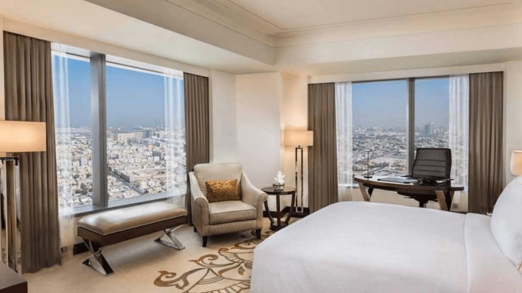 Conrad Dubai- chambre