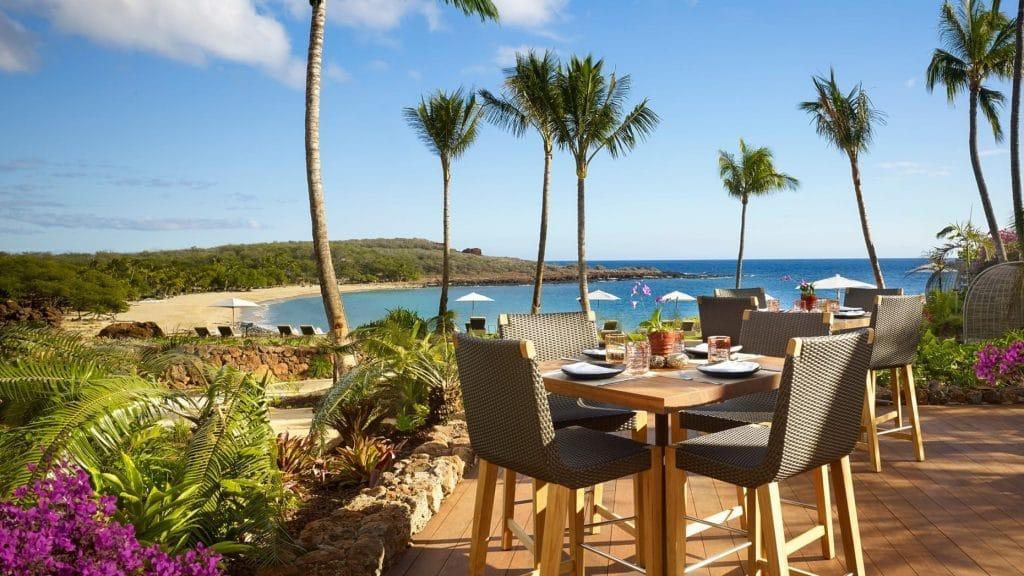 Four Seasons Resort Lanai - vue