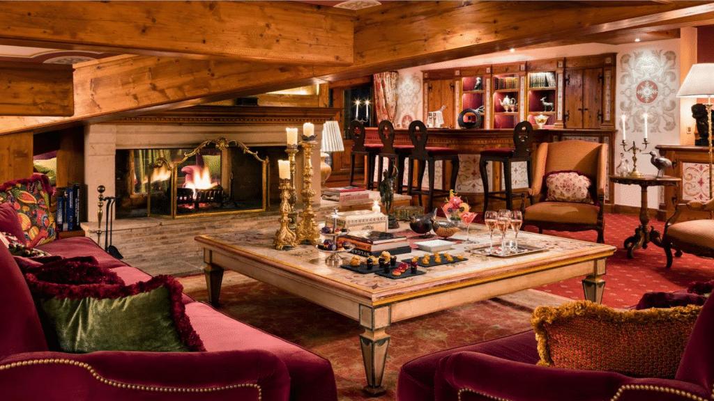 Hôtel 5 étoiles Luxe Airelles Courchevel - Palace au coeur des Alpes - chambres et suites