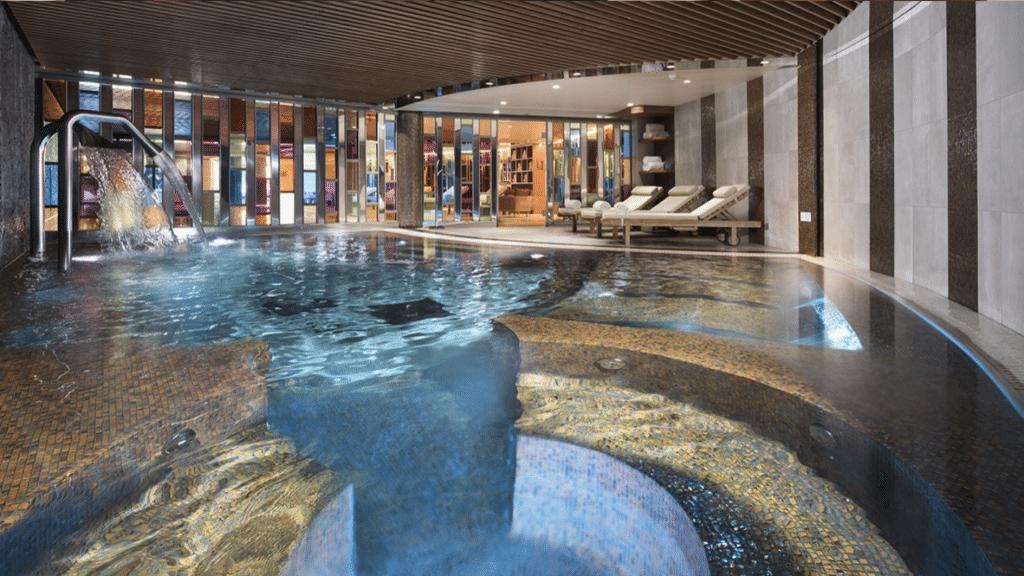Hôtel Barrière Les Neiges - spa