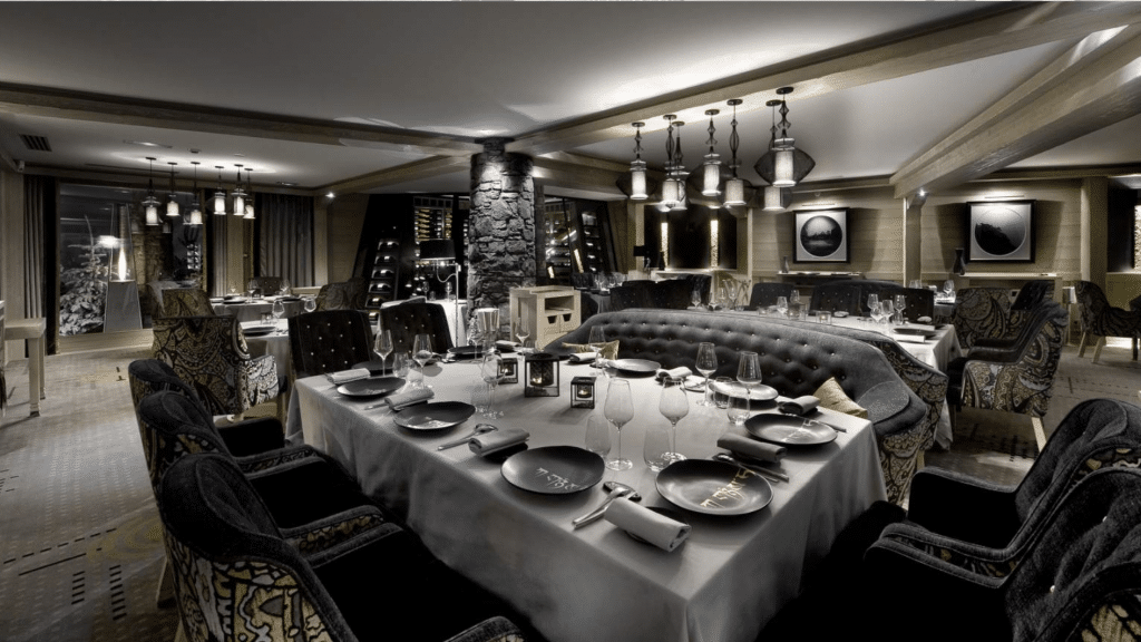 K2 Palace Courchevel · Alpes · restaurant