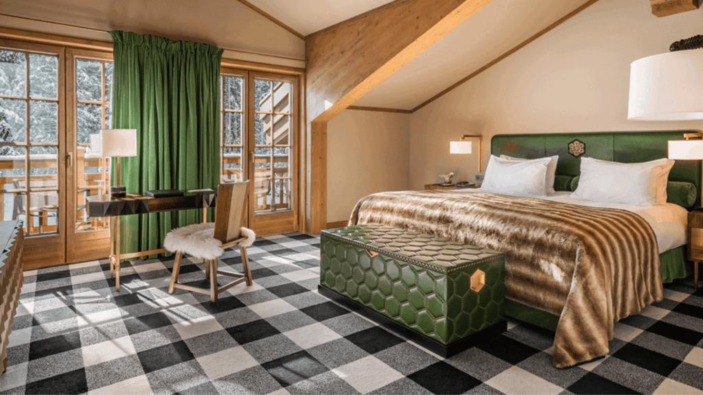 L'Apogée Courchevel _ Hôtel Ski 5 Étoiles, Chalets & Spa Dans Les Alpes - chambre
