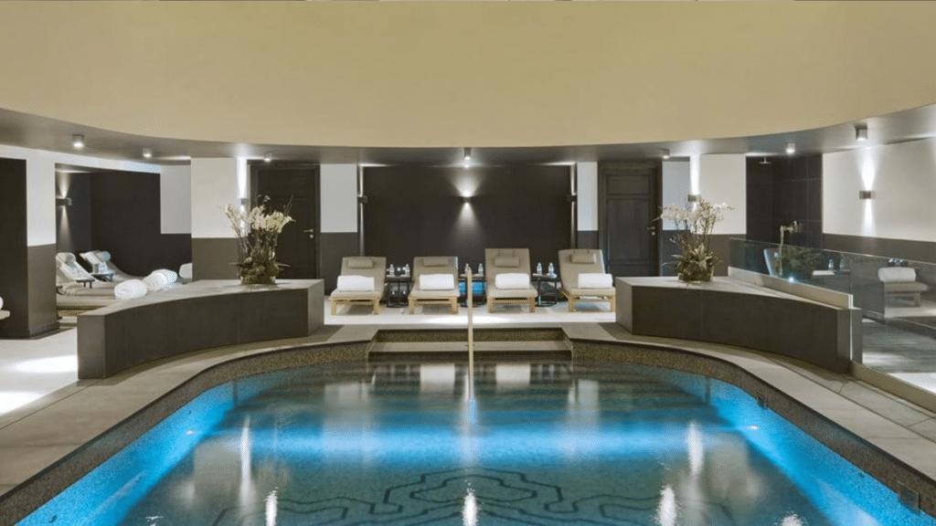 L'Apogée Courchevel _ Hôtel Ski 5 Étoiles, Chalets & Spa Dans Les Alpes - spa