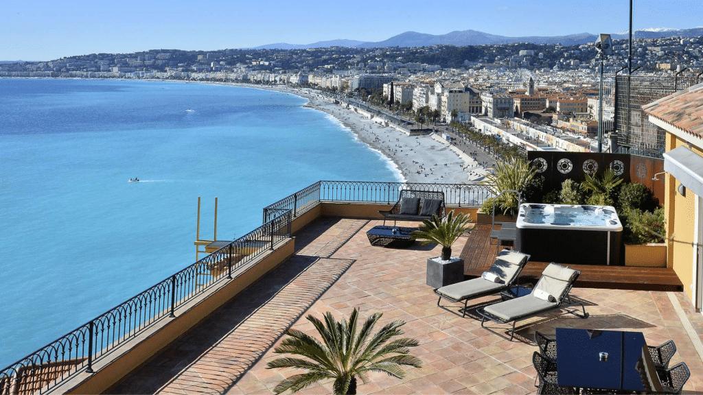 Suite Méditerranée - Hôtel La Pérouse - Hôtel 4* à Nice