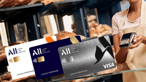 Carte bancaire ALL - VISA d'Accor